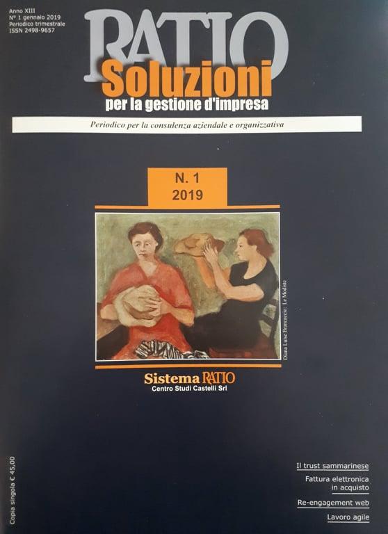 Le Opere della Galleria del Premio Suzzara sulla copertina della rivista Ratio ...